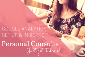 Get complete account set up and professional analysis with a personal consult